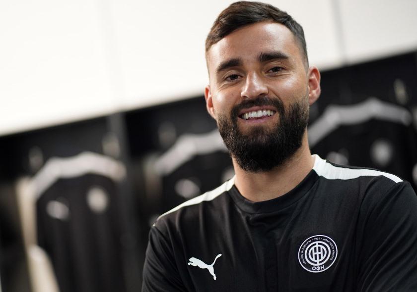 Στον ΟΦΗ ο Felipe Gallegos - Ofi FC
